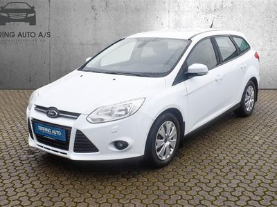 brugt Ford Focus 1,0 EcoBoost Edition 100HK Stc - Personbil - Hvid