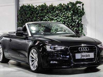 brugt Audi A5 Cabriolet 2,0 TFSi 225 quat. S-tr. 2d