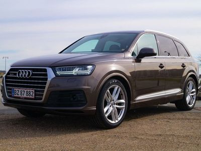 brugt Audi Q7 3,0 TDi 272 S-line quat. Tiptr. 7p