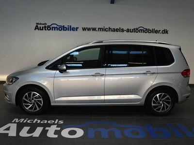begagnad VW Touran 2,0 TDi 150 Sound DSG BMT