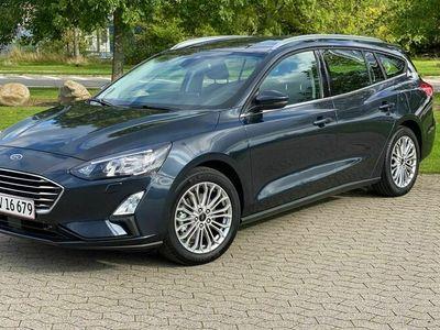 brugt Ford Focus 1,0 EcoBoost Hybrid Titanium 125HK Stc 6g