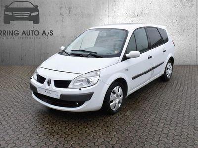 brugt Renault Grand Scénic 1,9 DCI Authentique 130HK Van Aut. - Varebil - hvid