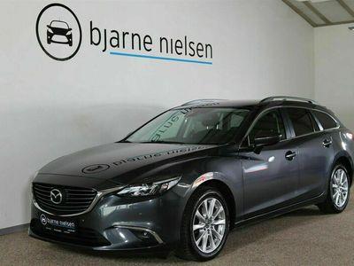 brugt Mazda 6 2,0 SkyActiv-G 165 Vision stc.