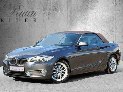 brugt BMW 220 i Cabrio Luxury Line
