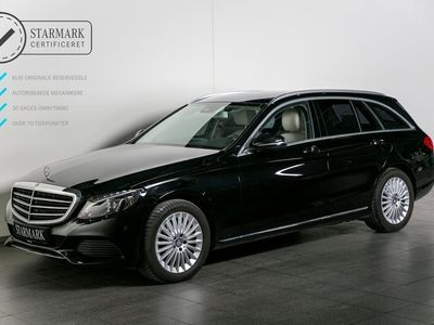 brugt Mercedes C220 d 2,2 Exclusive st.car aut.