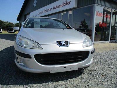 brugt Peugeot 407 1,6 HDI SR 109HK