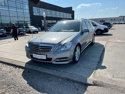 brugt Mercedes E200 T 2,1 CDI BlueEfficiency 136HK Stc Aut.