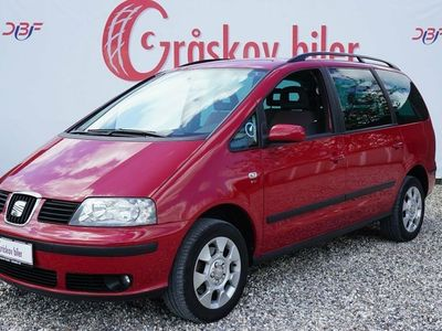 brugt Seat Alhambra 2,0 TDi Reference