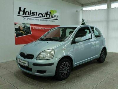brugt Toyota Yaris 1,0 Blue
