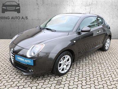 used Alfa Romeo MiTo 0,9 TwinAir Distinctive 104HK 3d 6g - Personbil - sort