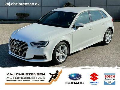 brugt Audi A3 Sportback 1,4 E-tron Plugin-hybrid Sport S Tronic 204HK 5d 6g Aut.