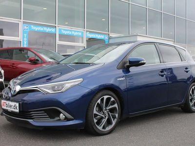 gebraucht Toyota Auris Hybrid 1,8 B/EL Style 136HK 5d Aut.