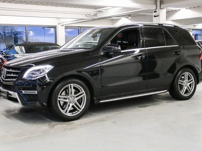 brugt Mercedes ML350 3,5 aut. 4-M BE