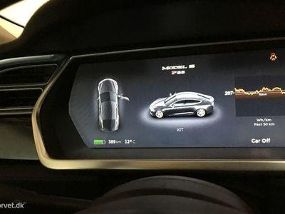 brugt Tesla Model S el EL Performance 416HK 5d Aut.