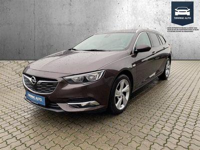 brugt Opel Insignia Sports Tourer 1,5 Turbo Dynamic Start/Stop 165HK Stc 6g - Personbil - Brunmetal