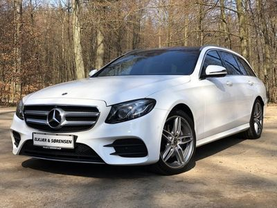 brugt Mercedes E220 2,0 stc. aut. 4-M