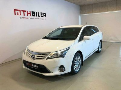 brugt Toyota Avensis 2,0 D-4D DPF T2 Touch 126HK Stc 6g