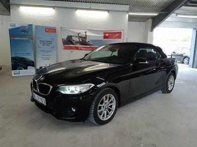 brugt BMW 220 i 2,0 Cabriolet aut.