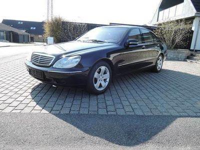 brugt Mercedes S500 limousine
