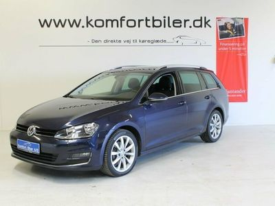 used VW Golf VII 2,0 TDi 150 Highl. Variant DSG BMT