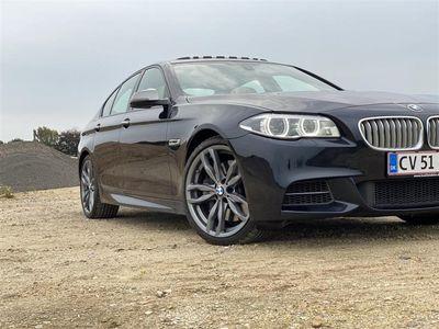 brugt BMW M550 d 3,0 D XDrive Steptronic 381HK 8g Aut. - Personbil - Mørkblåmetal