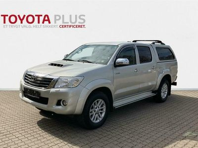 brugt Toyota HiLux Double Cab 3,0 D-4D Adventure 171HK Pick-Up 6g Aut.