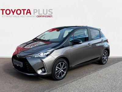 brugt Toyota Yaris 1,0 VVT-I T2 Limited Premium 72HK 5d A+