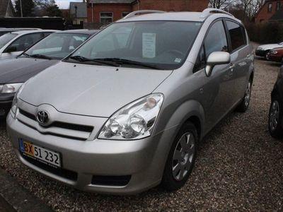 brugt Toyota Corolla Verso 1,6 Sportsvan 110HK Van
