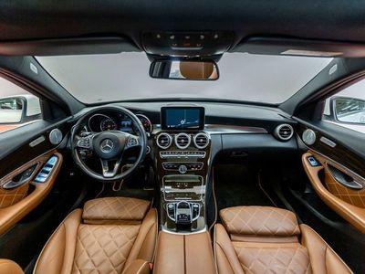 brugt Mercedes C250 2,2 BlueTEC AMG Line stc. 4-M