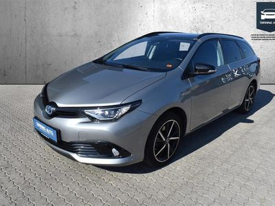 brugt Toyota Auris Touring Sports 1,8 B/EL Selected Bi-tone 136HK Stc Aut. - Personbil - Grå