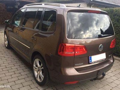 brugt VW Touran 2,0 TDI Highline DSG 170HK 6g Aut.
