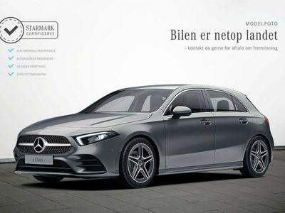 gebraucht Mercedes A180 d 1,5 AMG Line aut.