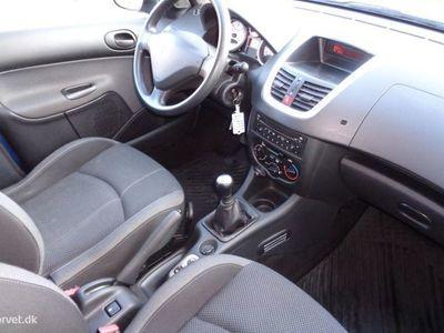 brugt Peugeot 206+ 1,4 HDI Active 70HK 5d