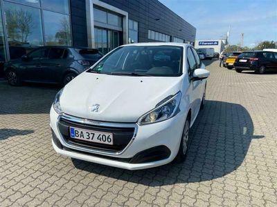 brugt Peugeot 208 1,2 VTi Active Navi 82HK 5d