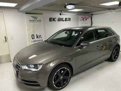 brugt Audi A3 Sportback 1,6 TDI Ambition 110HK 5d 6g