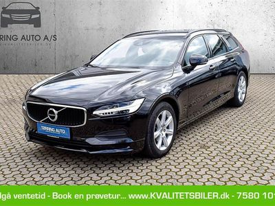 brugt Volvo V90 2,0 D4 Kinetic 190HK Stc 8g Aut. - Personbil - sortmetal