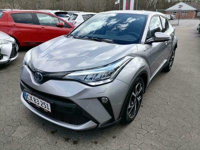 brugt Toyota C-HR 1,8 Hybrid C-LUB Smart Multidrive S 122HK 5d Aut. A+++