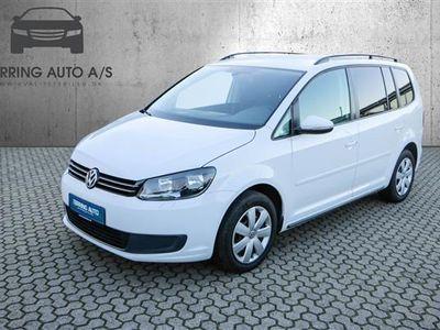käytetty VW Touran 1,6 blueMotion TDI Comfortline 105HK 6g - Personbil - hvid