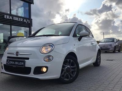 brugt Fiat 500C 0,9 TwinAir Turbo S 105HK Cabr. 6g