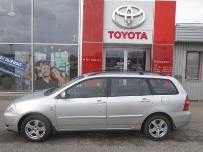 brugt Toyota Corolla 2,0 D-4D Linea Terra 90HK Stc