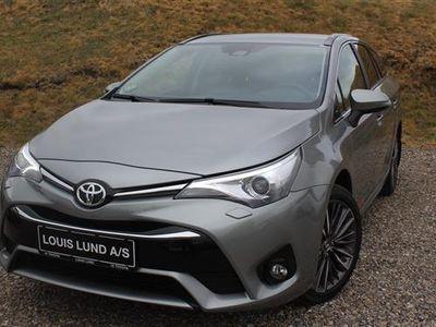 brugt Toyota Avensis Touring Sports 1,8 VVT-I T2 Selected Multidrive S 147HK Stc 6g Aut.