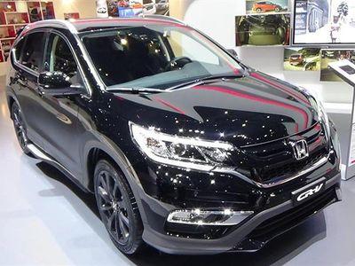brugt Honda CR-V 1,6 i-DTEC Elegance Plus 4WD 160HK 5d 9g Aut. - Personbil - sortmetal