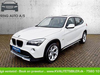 brugt BMW X1 20D 2,0 D 177HK 5d 6g Aut. - Personbil - hvid