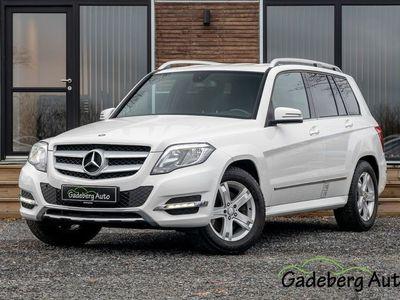brugt Mercedes GLK220 2,2 CDi BE Van