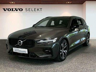 brugt Volvo V60 2,0 B4 Mild hybrid R-design 197HK Stc 8g Aut.