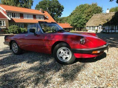 brugt Alfa Romeo Spider 1600 Cabrio
