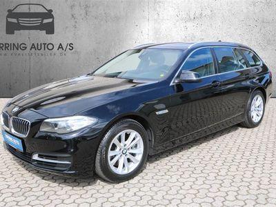 brugt BMW 530 d Touring 3,0 D 258HK Stc 8g Aut. - Personbil - sort
