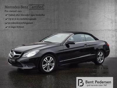 brugt Mercedes E200 0 7G-Tronic Plus 184HK Cabr. Aut. B