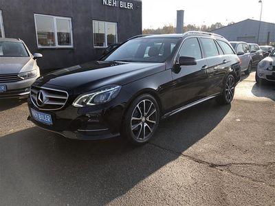gebraucht Mercedes E220 2,1 Bluetec 9G-Tronic 170HK Stc 9g Aut.