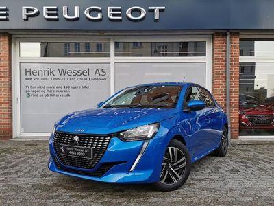 brugt Peugeot 208 1,5 BlueHDi Allure Sky 102HK 5d A++
